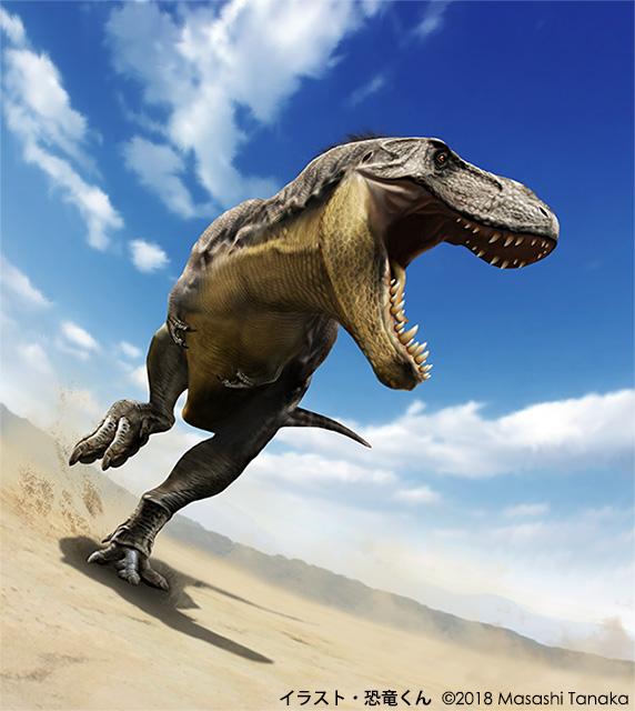 恐竜くんが描いたT-レックス
